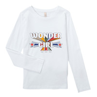Vêtements Fille T-shirts manches longues Only KONTINNA Blanc