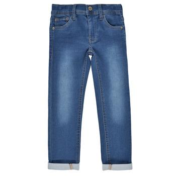 Vêtements Garçon Jeans slim Name it NKMTHEO DNMTHAYER Bleu medium
