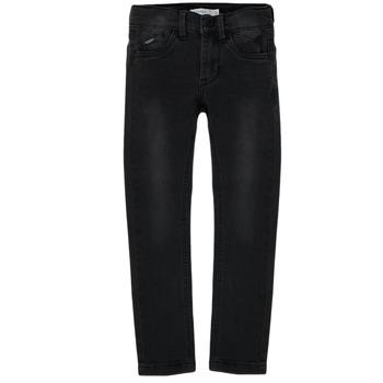 Vêtements Garçon Jeans slim Name it NKMPETE DNMTONSONS Noir