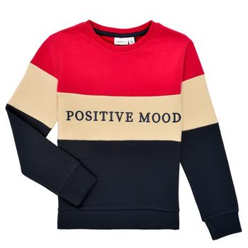 Vêtements Fille Sweats Name it NKFLIBEL LS SWEAT Multicolore
