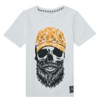 Vêtements Garçon T-shirts manches courtes Name it NKMKSOYTAN SS TOP Blanc