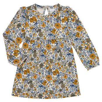 Vêtements Fille Robes courtes Name it NMFLALISA SWEAT DRESS Multicolore