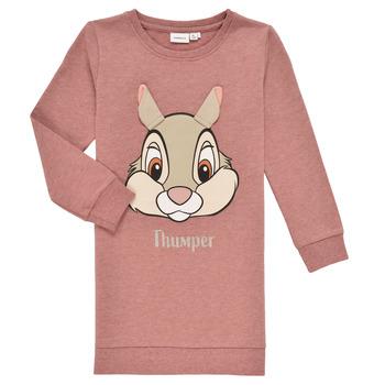 Vêtements Fille Sweats Name it NMFTHUMPER DAHLIA LS SWE Rose