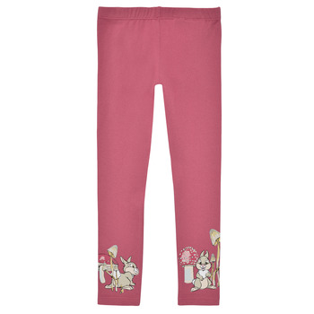 Vêtements Fille Leggings Name it NMFTHUMPER ENGLA LEGGINGS Rose
