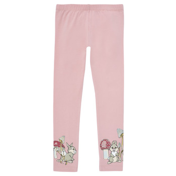 Vêtements Fille Leggings Name it NMFTHUMPER ENGLA LEGGINGS Violet