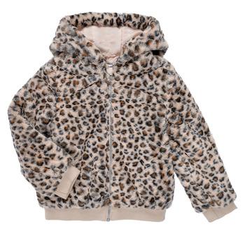 Vêtements Fille Blousons Name it NMFMADDIE FAUX FUR JACKET Multicolore