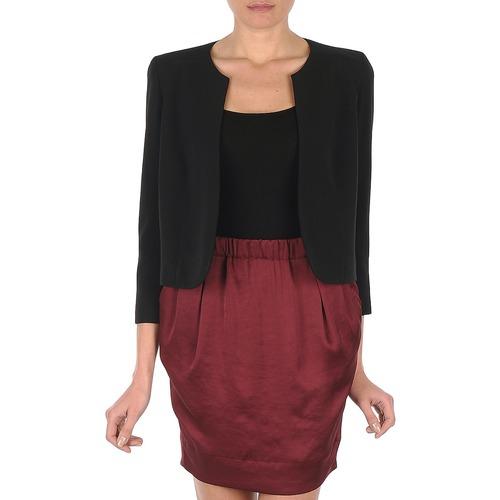 Vêtements Femme Vestes / Blazers Lola VICTORIA DOPPIO Noir