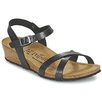 Chaussures Femme Sandales et Nu-pieds Papillio ALYSSA Noir