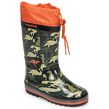Chaussures Garçon Bottes de pluie Kangaroos K-RAIN Kaki
