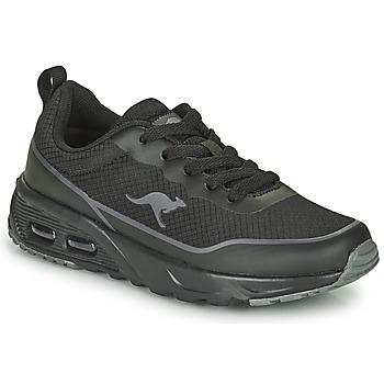Chaussures Garçon Baskets basses Kangaroos KX-3500 Noir