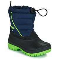 Chaussures Garçon Bottes de neige Kangaroos K-BEN Bleu / Vert
