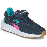 Chaussures Fille Baskets basses Kangaroos K-FORT JAG EV Bleu