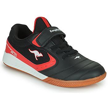 Chaussures Enfant Baskets basses Kangaroos K5-COURT EV Noir / Rouge
