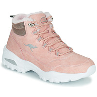 Chaussures Femme Baskets montantes Kangaroos KW-COZY Rose