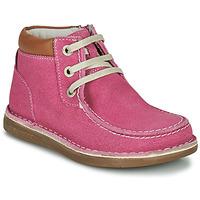 Chaussures Fille Boots Birkenstock PASADENA HIGH KIDS Rose