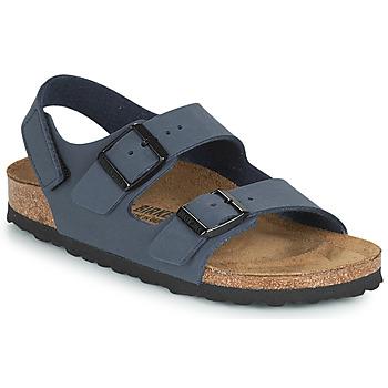 Chaussures Garçon Sandales et Nu-pieds Birkenstock MILANO HL Marine