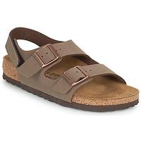 Chaussures Garçon Sandales et Nu-pieds Birkenstock MILANO HL Moka