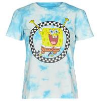 Vêtements Femme T-shirts manches courtes Vans WM VANS X SPONGEBOB Bleu