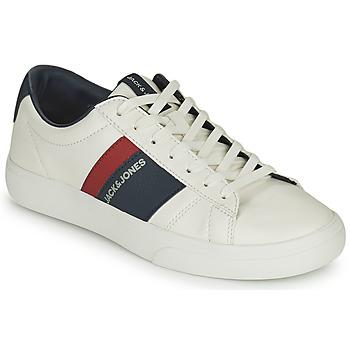 Chaussures Garçon Baskets basses Jack & Jones MISTRY Blanc
