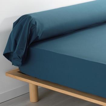 Maison & Déco Taies d'oreillers, traversins Douceur d intérieur PERCALINE Bleu