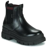 Chaussures Femme Boots Buffalo ASPHA CHELSEA Noir