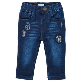 Vêtements Garçon Jeans droit Ikks ACIER Bleu foncé