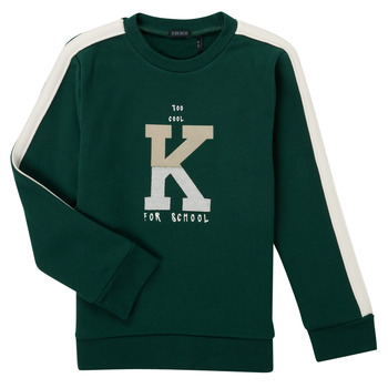 Vêtements Garçon Sweats Ikks SINOPLE Kaki
