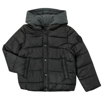 Vêtements Garçon Doudounes Ikks CORAIL Noir