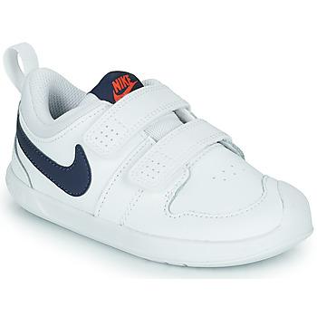 Chaussures Enfant Baskets basses Nike NIKE PICO 5 (TDV) Blanc / Bleu