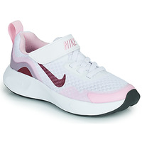 Chaussures Enfant Multisport Nike NIKE WEARALLDAY (PS) Blanc / Rose