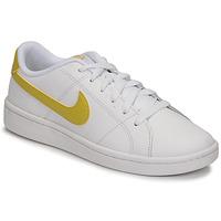Chaussures Femme Baskets basses Nike WMNS NIKE COURT ROYALE 2 Blanc / Doré