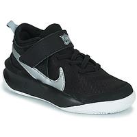 Chaussures Enfant Baskets montantes Nike TEAM HUSTLE D 10 (PS) Noir / Argent