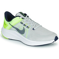 Chaussures Homme Running / trail Nike NIKE QUEST 4 Gris / Jaune