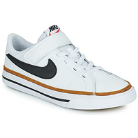 Chaussures Enfant Baskets basses Nike NIKE COURT LEGACY (PSV) Blanc / Noir