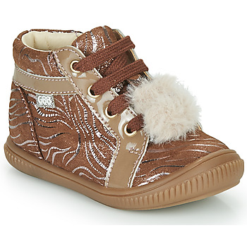 Chaussures Fille Baskets montantes GBB ISAURE Beige