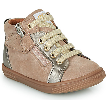 Chaussures Fille Baskets montantes GBB VALA Beige