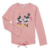 Vêtements Fille T-shirts manches longues TEAM HEROES  TEE MINNIE Rose