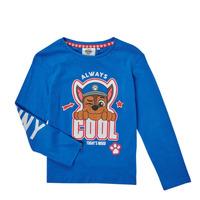 Vêtements Garçon T-shirts manches longues TEAM HEROES  TEE PAW PATROL Bleu