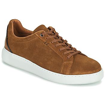 Chaussures Homme Baskets basses Pellet OSCAR Marron