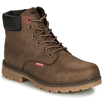 Chaussures Enfant Boots Levi's NEW FORREST Marron