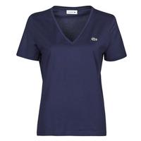 Vêtements Femme T-shirts manches courtes Lacoste LOUIS Marine