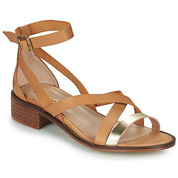 Chaussures Femme Sandales et Nu-pieds Casual Attitude COUTIL Camel / Or