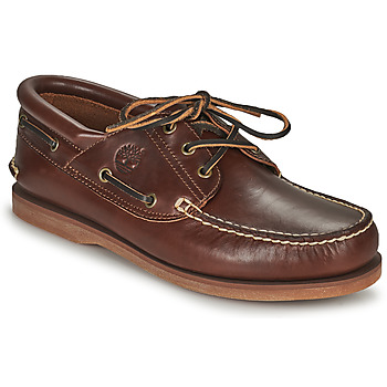 Chaussures Chaussures bateau Timberland Classic Boat 3 Eye Padded Collar Marron