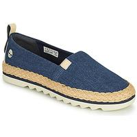 Chaussures Femme Espadrilles Timberland Barcelona Bay Classic Textile Bleu