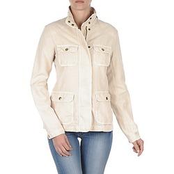 Vêtements Femme Blousons Gant COTTON LINEN 4PKT JACKET Crème