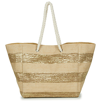 Sacs Femme Cabas / Sacs shopping Betty London  Beige / or