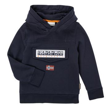 Vêtements Garçon Sweats Napapijri BURGEE Marine