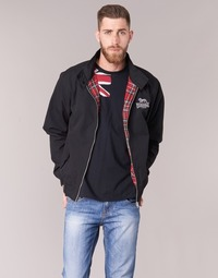 Vêtements Homme Blousons Lonsdale HARRINGTON Noir