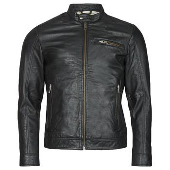 Vêtements Homme Vestes en cuir / synthétiques Selected SLHICONIC Noir
