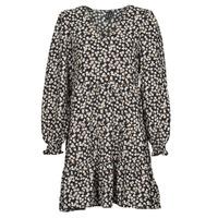 Vêtements Femme Robes courtes Vero Moda VMSALINA Noir